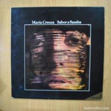 Discos de vinilo: MARIA CREUZA - SABOR A SAMBA - LP. Lote 279364768