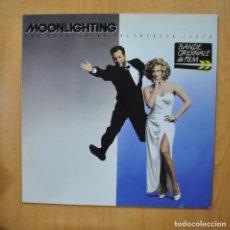 Discos de vinilo: VARIOS - MOONLIGHTING - LP. Lote 279365053