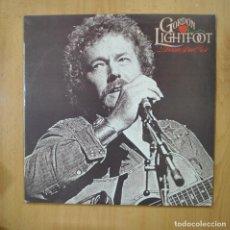 Discos de vinilo: GORDON LIGHTFOOT - DREAM STREET ROSE - LP. Lote 279365208