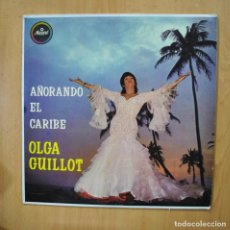 Discos de vinilo: OLGA GUILLOT - AÑORANDO EL CARIBE - LP. Lote 279365378