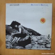 Discos de vinilo: GINO VANNELLI - BROTHER TO BROTHER - LP. Lote 279365533