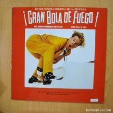 Discos de vinilo: VARIOS - GRAN BOLA DE FUEGO - LP. Lote 279365563