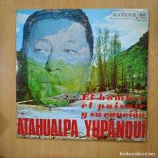 Discos de vinilo: ATAHUALPA YUPANQUI - EL HOMBRE EL PAISAJE Y SU CANCION - LP. Lote 279365583