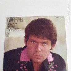 Discos de vinilo: RAPHAEL BALADA DE LA TROMPETA + 3 ( 1969 HISPAVOX ESPAÑA ) WALDO DE LOS RIOS. Lote 279366388