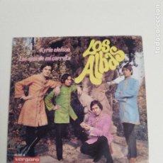 Discos de vinilo: LOS ALBAS KYRIE ELEISON / LOS EJES DE MI CARRETA ( 1968 VERGARA ESPAÑA ). Lote 279366543