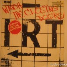 Discos de vinilo: I.R.T. (INTERBORO RHYTHM TEAM)* – WATCH THE CLOSING DOORS = ¡CUIDADO CON LAS PUERTAS AL CERRARSE!. Lote 279372918