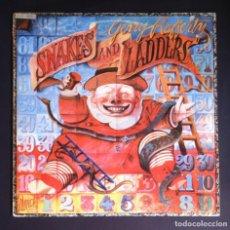 Discos de vinilo: GERRY RAFFERTY - SNAKES AND LADDERS - LP ESPAÑOL CON ENCARTE 1980 - UA. Lote 279373323