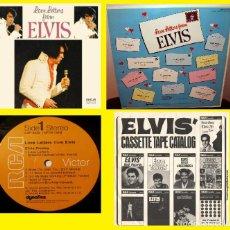 Discos de vinilo: ELVIS PRESLEY - LOVE LETTERS FROM ELVIS 71 - USA EDT RCA + RARO ENCARTE, IMPECABLE. Lote 279373613