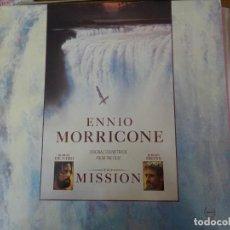 Discos de vinilo: THE MISSION BSO. Lote 279379543