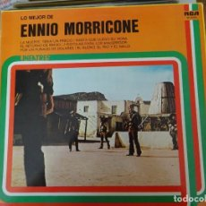 Discos de vinilo: ENNIO MORRICONE. Lote 279379638