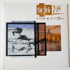 Discos de vinilo: THE BIG DISH- CREEPING UP ON JESUS- UK LP 1988- VINILO COMO NUEVO.. Lote 279379918