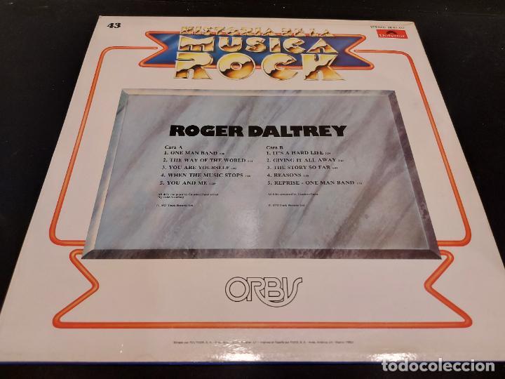Discos de vinilo: ROGER DALTREY / HISTORIA DE LA MÚSICA ROCK / 43 / LP - POLYDOR-1982 / MBC. ***/*** - Foto 2 - 279392308