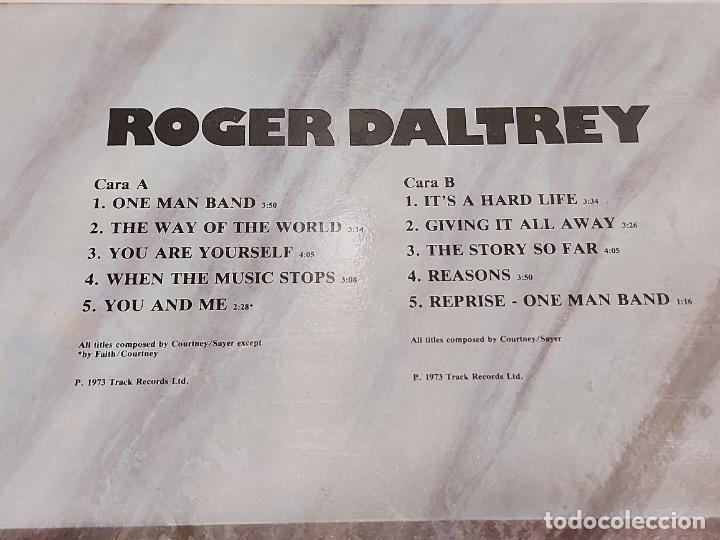 Discos de vinilo: ROGER DALTREY / HISTORIA DE LA MÚSICA ROCK / 43 / LP - POLYDOR-1982 / MBC. ***/*** - Foto 3 - 279392308