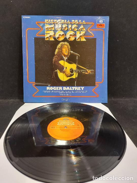 ROGER DALTREY / HISTORIA DE LA MÚSICA ROCK / 43 / LP - POLYDOR-1982 / MBC. ***/*** (Música - Discos - LP Vinilo - Pop - Rock - New Wave Internacional de los 80)