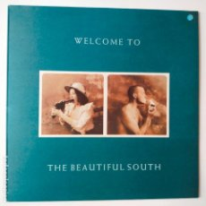 Discos de vinilo: THE BEAUTIFUL SOUTH- WELCOME TO THE BEAUTIFUL SOUTH- SPAIN LP 1989 + ENCARTE- COMO NUEVO.. Lote 279400283