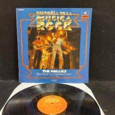 Discos de vinilo: THE HOLLIES / HISTORIA DE LA MÚSICA ROCK / 42 / LP - POLYDOR-1982 / MBC. ***/***. Lote 279401918