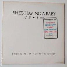 Discos de vinilo: SHE´S HAVING A BABY- HOLLAND LP 1988- BANDA SONORA- KATE BUSH- VINILO CASI NUEVO.. Lote 279402733