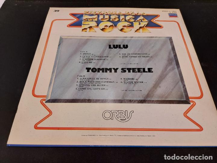 Discos de vinilo: LULU - TOMMY STEELE / HISTORIA DE LA MÚSICA ROCK / 39 / LP - DECCA-1982 / MBC. ***/*** - Foto 2 - 279403113