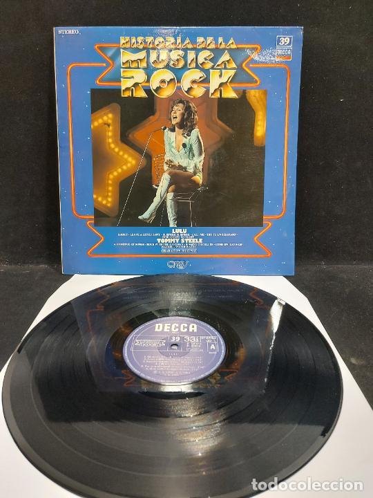 LULU - TOMMY STEELE / HISTORIA DE LA MÚSICA ROCK / 39 / LP - DECCA-1982 / MBC. ***/*** (Música - Discos - LP Vinilo - Pop - Rock - New Wave Internacional de los 80)
