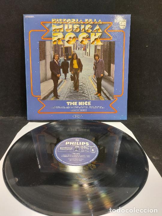 TNE NICE / HISTORIA DE LA MÚSICA ROCK / 25 / LP - PHILIPS-1982 / MBC. ***/*** (Música - Discos - LP Vinilo - Pop - Rock - New Wave Internacional de los 80)