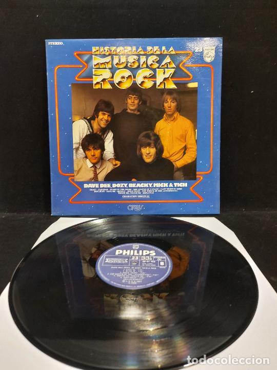 DAVE DEE, DOZY, BEACKY, MICK & TICH / HISTORIA DE LA MÚSICA ROCK / 23 / LP-PHILIPS-1982/MBC.***/*** (Música - Discos - LP Vinilo - Pop - Rock - New Wave Internacional de los 80)