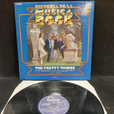 Discos de vinilo: THE PRETTY THINGS / HISTORIA DE LA MÚSICA ROCK / 22 / LP - FONTANA - 1982 / MBC.***/***. Lote 279404873