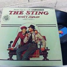 Discos de vinilo: THE STING-LP BSO DEL FILM. Lote 279405033