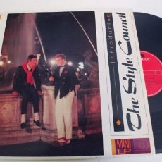 Discos de vinilo: THE STYLE COUNCIL-LP MINI INTRODUCING. Lote 279405143