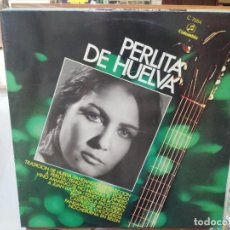 Discos de vinilo: PERLITA DE HUELVA - TRADICIÓN DE HUELVA, FANDANGOS DE SELECCIÓN, ... - LP. SELLO COLUMBIA 1970. Lote 279405433