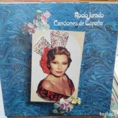 Discos de vinilo: ROCÍO JURADO - CANCIONES DE ESPAÑA - LP. SELLO RCA 1981. Lote 279405573