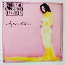 Discos de vinilo: SIOUXSIE & THE BANSHEES- SUPERSTITION- SPAIN LP 1991 + ENCARTE- COMO NUEVO.. Lote 279405908