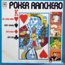 Discos de vinilo: VARIOUS – PÓKER RANCHERO, VINILO, LP.. Lote 279406368