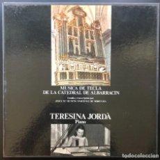 Discos de vinilo: MUSICA DE TECLA TERESINA JORDA PIANO 3 LP CAJA CON ENCARTE VINILOS SIN REPRODUCIR. Lote 279406463