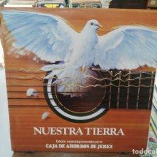 Discos de vinilo: NUESTRA TIERRA - ROCÍO JURADO, PERRO PATERNA, MANOLO CANTARRANA, CHATO DE LA ISLA, .. -LP. RCA 1980. Lote 279407168