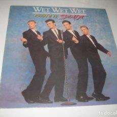 Discos de vinilo: WET WET WET POPPED IN SOULED OUT LP. Lote 279408168