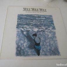 Discos de vinilo: WET WET WET - HOLDING BACK THE RIVER LP. Lote 279408503