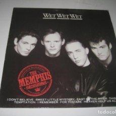 Discos de vinilo: WET WET WET - THE MEMPHIS SESSIONS LP. Lote 279409263