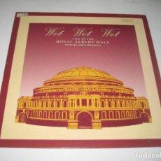 Discos de vinilo: WET WET WET - LIVE AT THE ROYAL ALBERT HALL LP. Lote 279409573