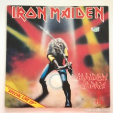 Discos de vinilo: IRON MAIDEN – MAIDEN JAPAN EUROPE,1981 EMI ELECTROLA. Lote 279412558