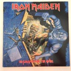 Discos de vinilo: IRON MAIDEN – NO PRAYER FOR THE DYING USA,1990 EPIC. Lote 279413073
