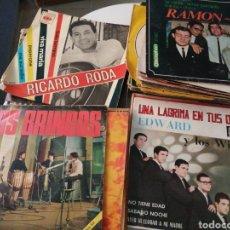 Disques de vinyle: LOTE 50 DISCOS VINILO SINGLES VARIADOS. Lote 279413118