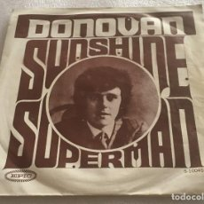 Discos de vinilo: SINGLE DONOVAN - SUNSHINE SUPERMAN - THE TRIP - EPIC 5.10045 - PEDIDO MINIMO 7€. Lote 279414638