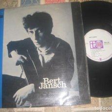 Discos de vinilo: BERT JANSCH - BERT JANSCH- (TRANSATLANTIC-1965) ORIGINAL ENGLAND SUPER FOLK BLUES PRE -PENTANGLE.. Lote 279427283