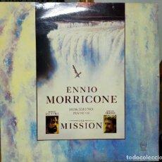 Discos de vinilo: DISCO VINILO BANDA SONORA DE LA PELÍCULA LA MISION ( ENNIO MORRICONE) 1986. Lote 279429593