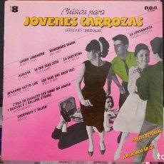 Discos de vinilo: *MÚSICA PARA JÓVENES CARROZAS - VOLUMEN 8 - VERSIONES ORIGINALES - LP AÑO 1980 - LEER DESCRIPCIÓN. Lote 279431823