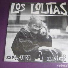Discos de vinilo: LOS LOLITAS – ESPERANDO A CARLITOS - MINI LP LOLITAS SUBTERFUGE 1993 - ROCKABILLY PUNK 90'S. Lote 279436228