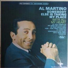 Discos de vinilo: LP AL MARTINO - SOMEBODY ELSE IS TAKING MY PLACE - CAPITOL ST 2312 - US PRESS (EX+/EX-). Lote 279438713