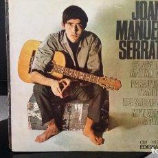 Discos de vinilo: *JOAN MANUEL SERRAT - CANÇÓ DE MATINADA / PARAULES D'AMOR + 2 - EP AÑO 1966 - LEER DESCRIPCIÓN. Lote 279445063