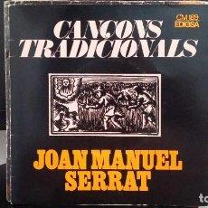 Discos de vinilo: *JOAN MANUEL SERRAT - EL BALL DE LA CIVADA +3 - EP AÑO 1972 - PROMOCIÓN - LEER DESCRIPCIÓN. Lote 279445828