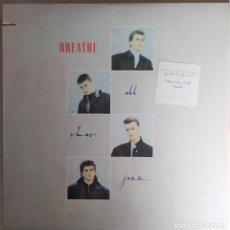 """Discos de vinilo: LP BREATHE - ALL THAT JAZZ - A&M RECORDS SP-5163 -US PRESS """"CUT-OUT"""" (VG++/VG++). Lote 279446343"""